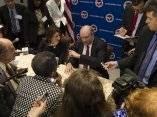 Conferencia de prensa en la Cámara de Comercio de EEUU. Foto: Ismael Francisco/ Cubadebate