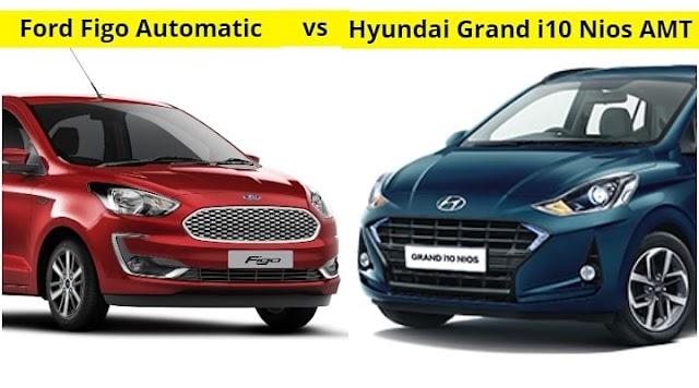 2021 Ford Figo Automatic vs Hyundai Grand i10 Nios AMT