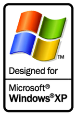 Designed for Windows XP Logo