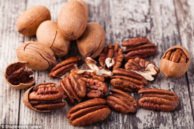 Pecans may help protect overweight people from heart attacks, according to recent research