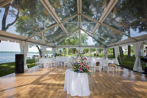 Clear Top Wedding Tent   Blue Peak Tents, Inc.