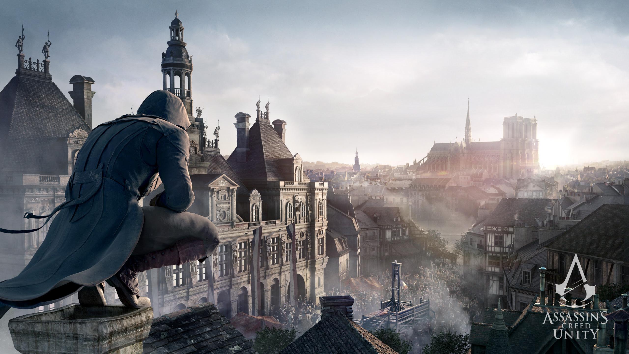 Assassins Creed Unity Wallpaper 2560x1440 83470
