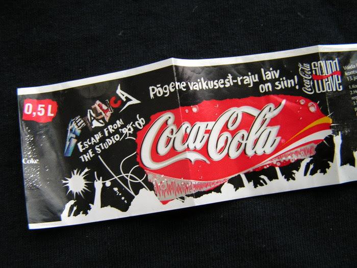 Этикетка Кока-Колы