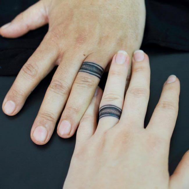 60 Hearwarming Wedding Ring Tattoo Ideas - The New ...