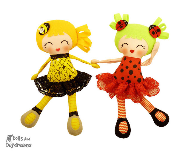 Little Lady Bug Girls Sewing Pattern