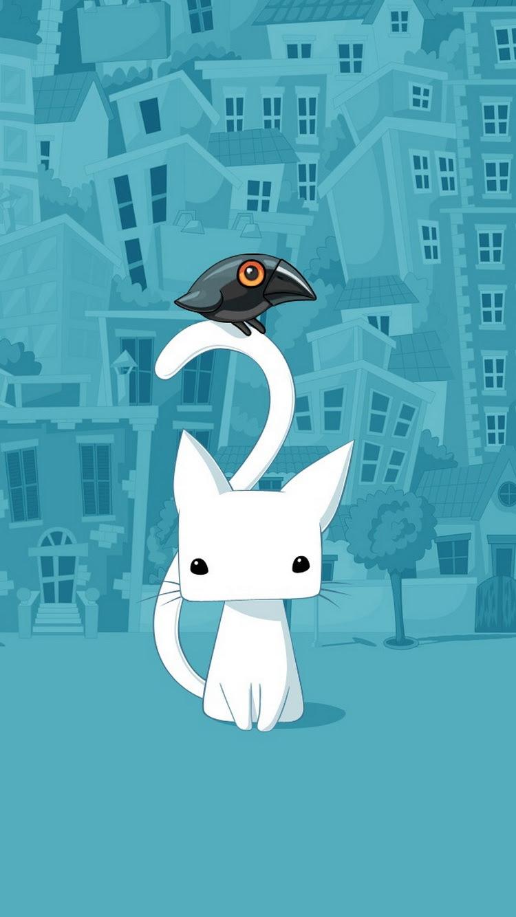 35 スマホ 壁紙 猫 イラスト Hdの壁紙無料