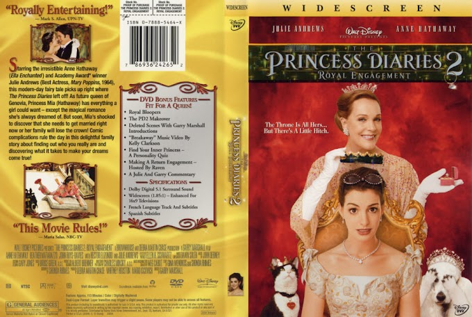 The Princess Diaries 2: Royal Engagement Hindi Bluray 720p & 480p Dual Audio x264