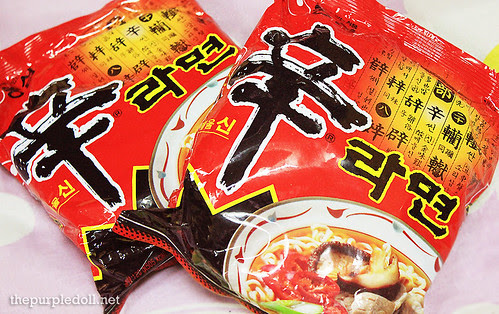 Nongshim Shin Ramyun Hot and Spicy