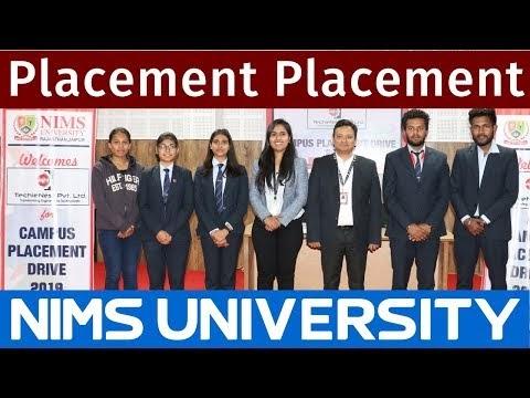 Campus Placement Drive 2019 : TechieNest | Nims University