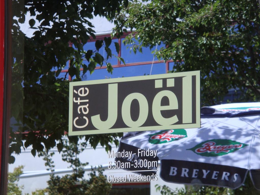 Cafe Joel signage