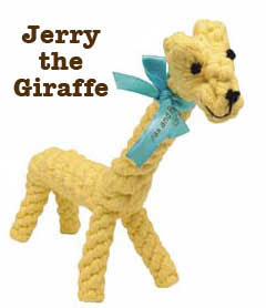 Jax & Bones - Jerry the Giraffe toy