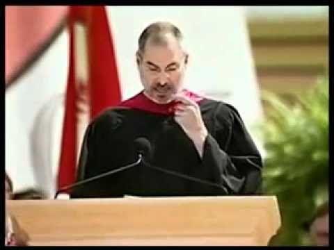 A tribute to Steve Jobs: Stanford Commencement speech 2005.