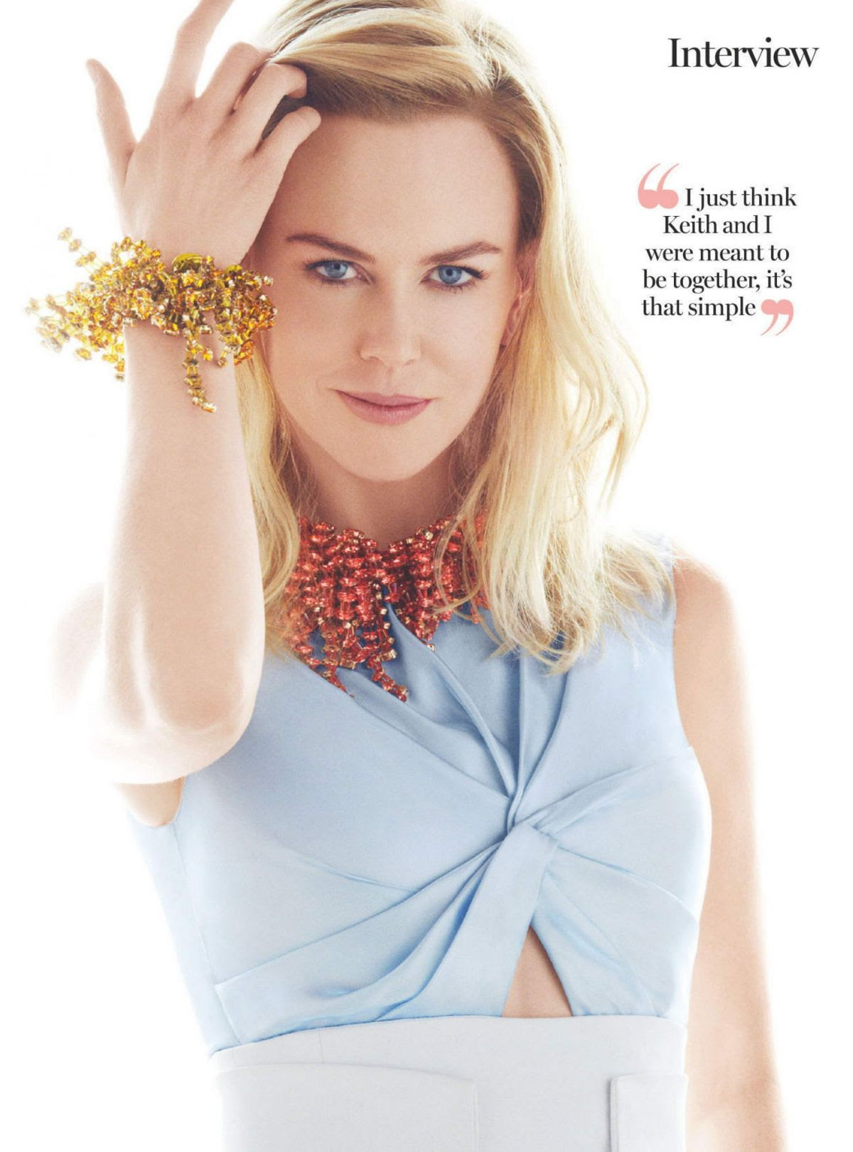 NICOLE KIDMAN in Marie Claire Magazine, Australia April 2016 Issue