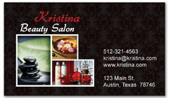 BCS-1096 - salon business card