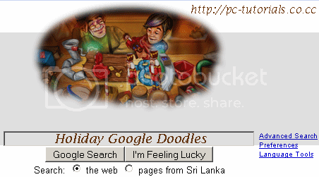 Google holiday secret doodles google