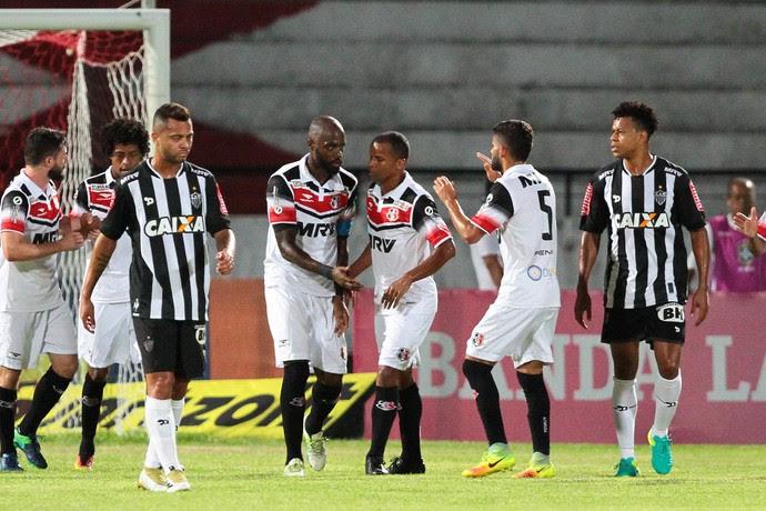 Santa Cruz x Atlético-MG (Foto: Marlon Costa (Pernambuco Press))