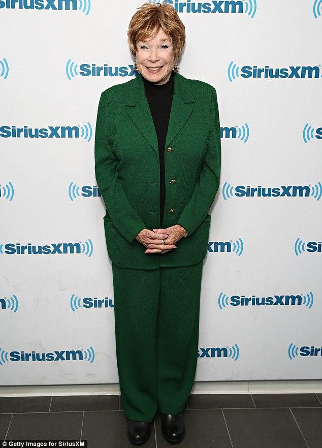 Shirley MacLaine at 81