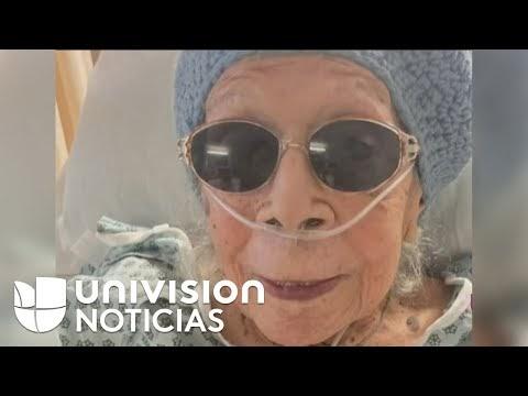Señora de 105 años sobrevivió a varias guerras, dos pandemias y venció el coronavirus