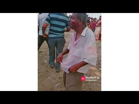 Drunk old Indian man with crazy and hilarious dance moves viral video