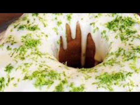 Receita bolo de limão com cobertura de mousse de limão -  Elza Hashtag