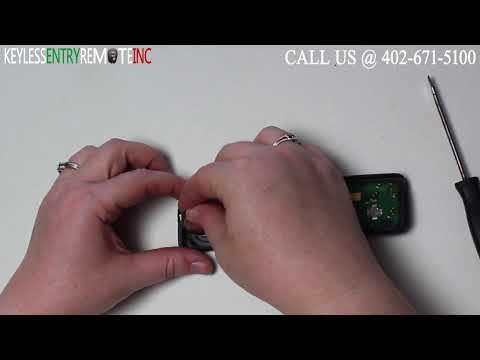 How To Replace A Volvo Xc70 Key Fob Remote Battery 2008 2009 2010 2017 And Br Programming Instructions