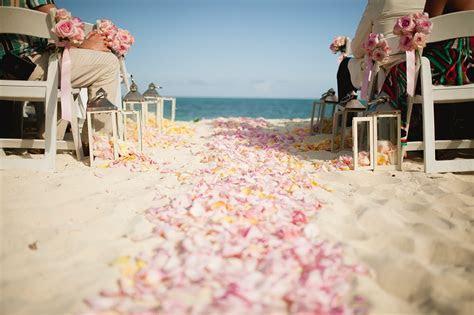 Bahamas Beach Weddings: Michaela   Ryan's Chic Vintage Wedding