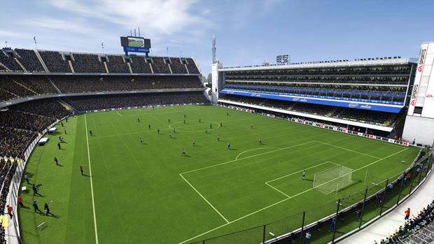 O caldeirão de La Bombonera irá esquentar as partidas de Fifa 14 (Foto: Divulgação)