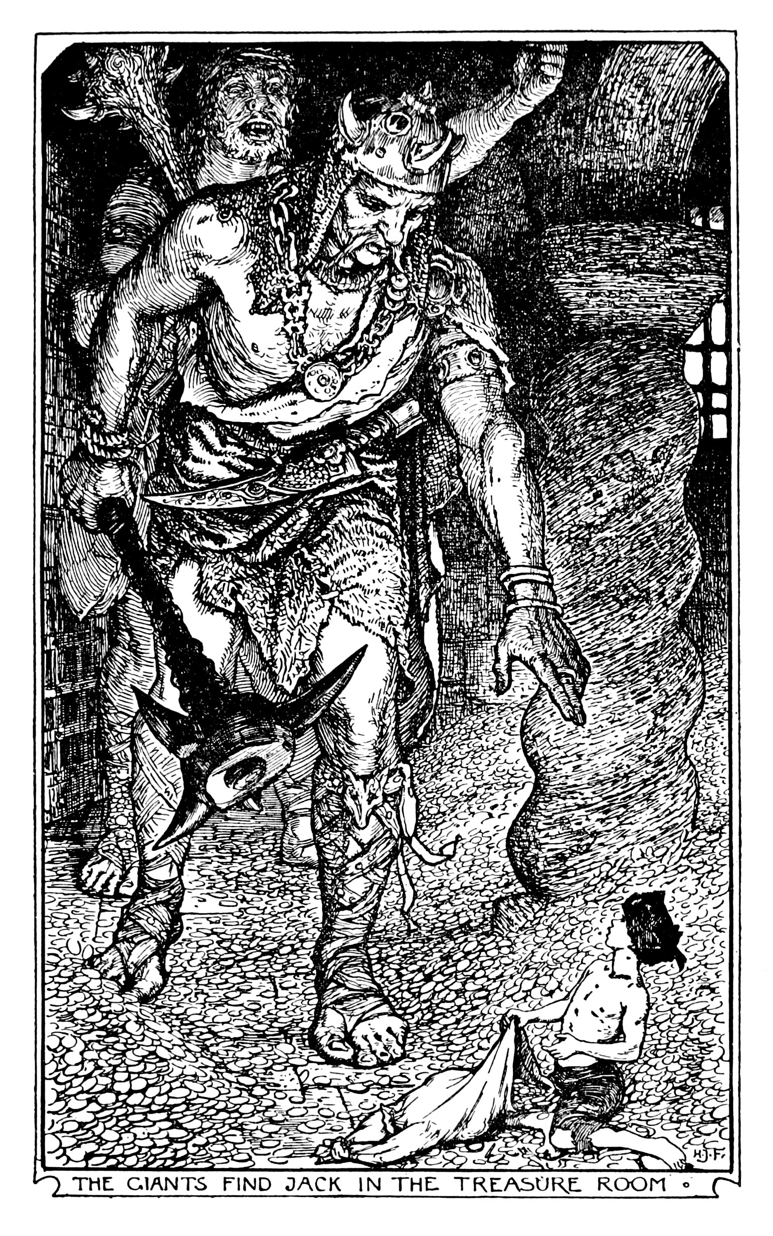 Henry Justice Ford - The orange fairy book edited by Andrew Lang , 1906 (illustration 6)