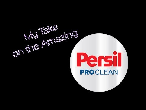 Laundry Day with Persil ProClean