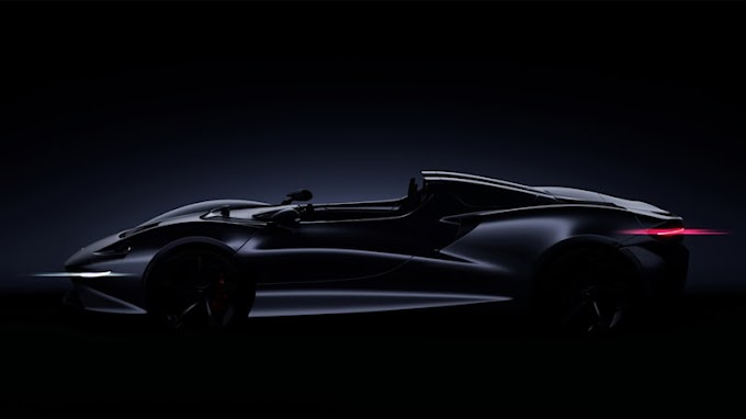 McLaren reveals that yes, its next Ultimate Series car is a roadster