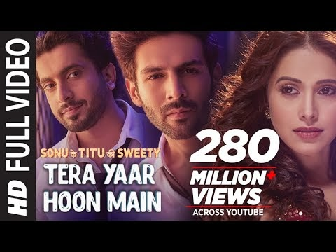 Tera yaar hoon main Dual Lyrics in English-Hindi