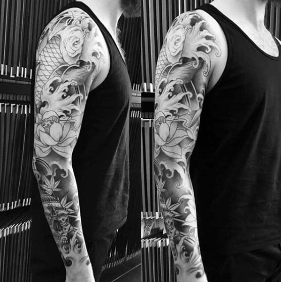 120 Japanese Sleeve Tattoos For Men Masculine Design Ideas