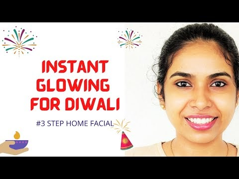 How to get glowing skin | Easy 3 step home remedy for glowing skin