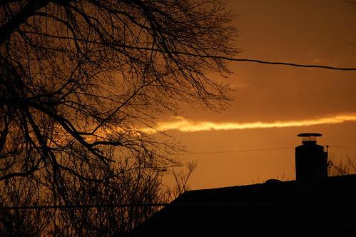 Sunrise in Council Bluffs