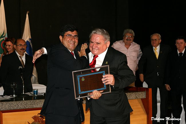 Haroldo Máximo e Samuel Araripe - Cidadão Cratense - Crato