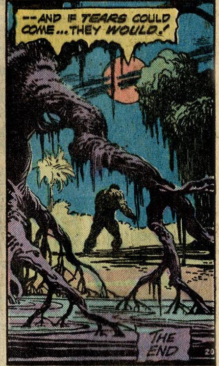 Swamp Thing #13 Len Wein's farewell to the series, by Len Wein and Nestor Redondo