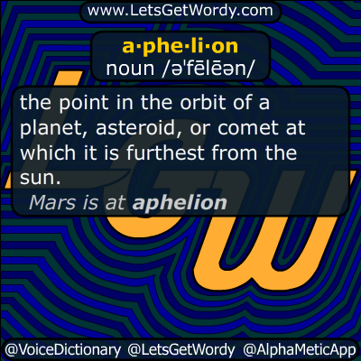 aphelion 07/05/2017 GFX Definition