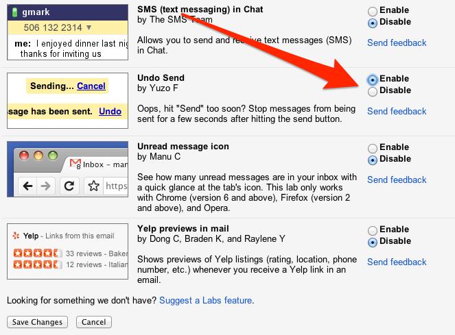 كيف تتراجع او تعمل undo لإيميل ارسلته بالخطأ (Gmail)