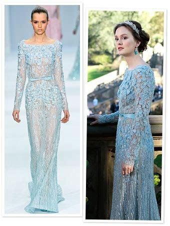 Gossip Girl: Blair Waldorf's Wedding Dress by Elie Saab