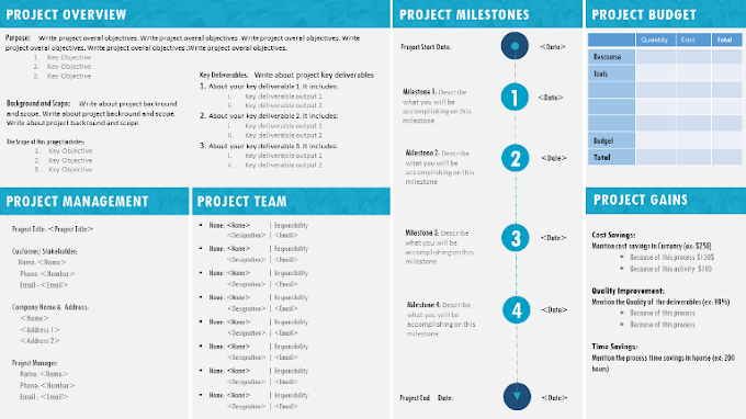 Project Management Templates Powerpoint