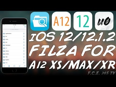 iOS    /   FILZA RELEASED FOR A (iPhone XS, XS MAX, XR) WITH