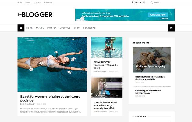 TheBlogger Blogger Template