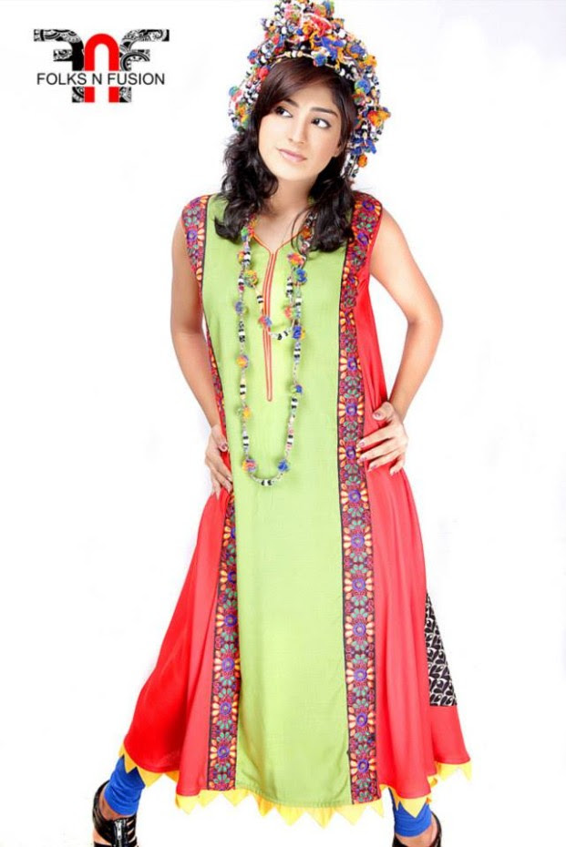 Folks N Fusion Tops-Kurti and Tights Fashion for Girls-Womens8