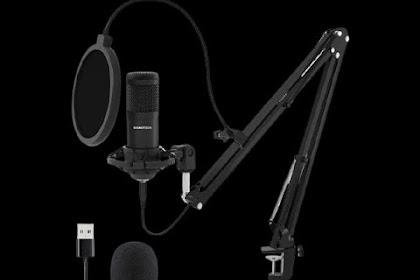 Bijak memilih mikrofon buat streaming untuk di gunakan di perangkat mobile