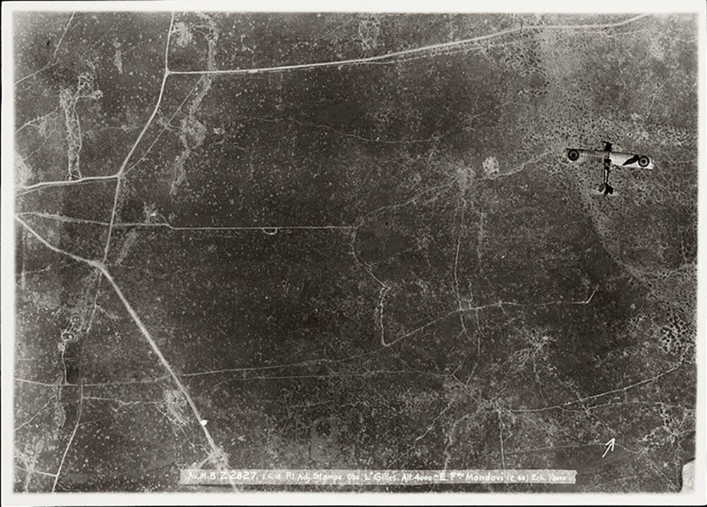 http://www.atlasobscura.com/articles/see-aerial-reconnaissance-photos-of-wwi-battlefields