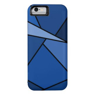 Abstract Blue Polygons iPhone 6 Case