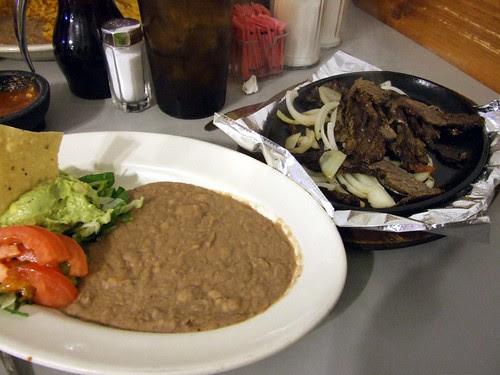 Fajita Plate at Los Vega