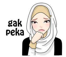 buat chat kamu lebih asyik  hijab gaul stiker