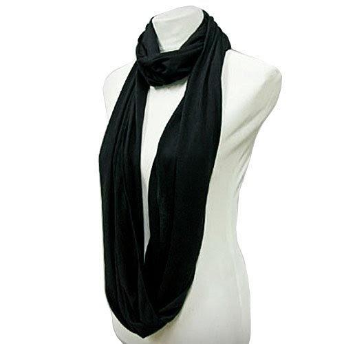 black lightweight circle ring infinity scarf cheap best