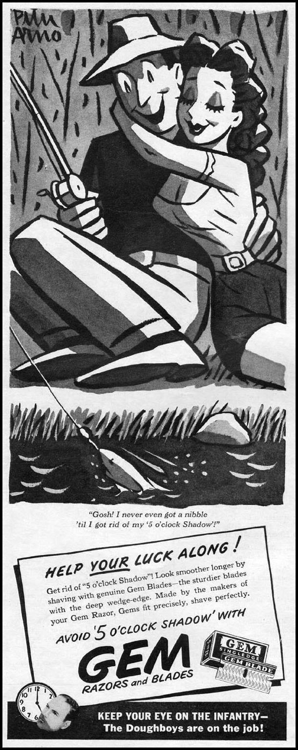 GEM RAZORS AND BLADES LIFE 06/04/1945 p. 4